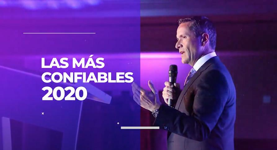 Premiaciones Reader´s Digest Marcas de Confianza 2020
